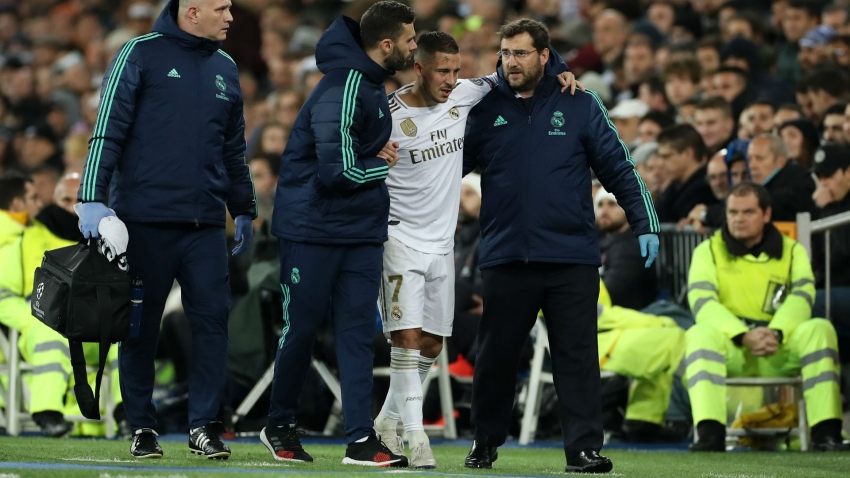 Hazard set to miss El Clasico with small fracture in ankle