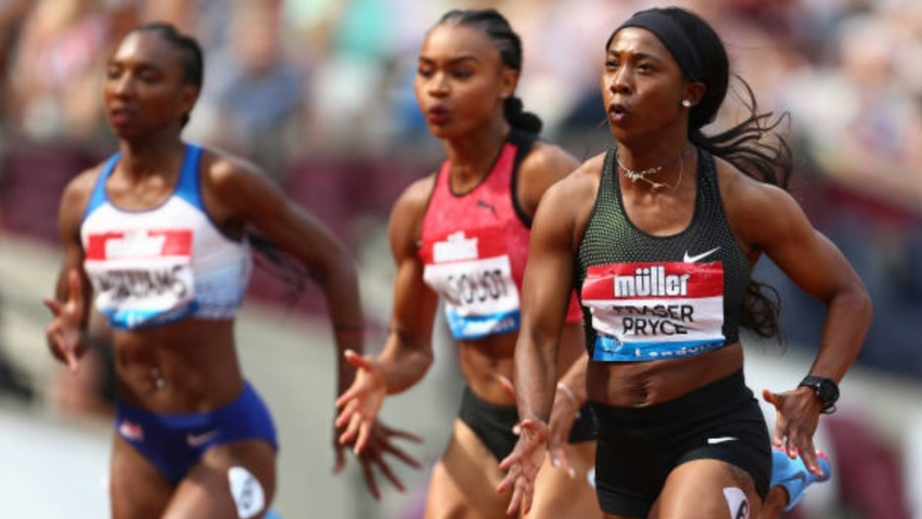 Back in business! - Shelly-Ann Fraser-Pryce dips below 11 seconds for the first time in two years