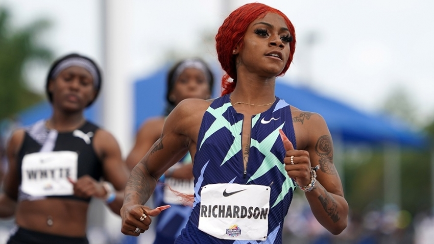 Elaine and Shelly beware! Richardson now favourite for Olympic 100/200m glory - Boldon