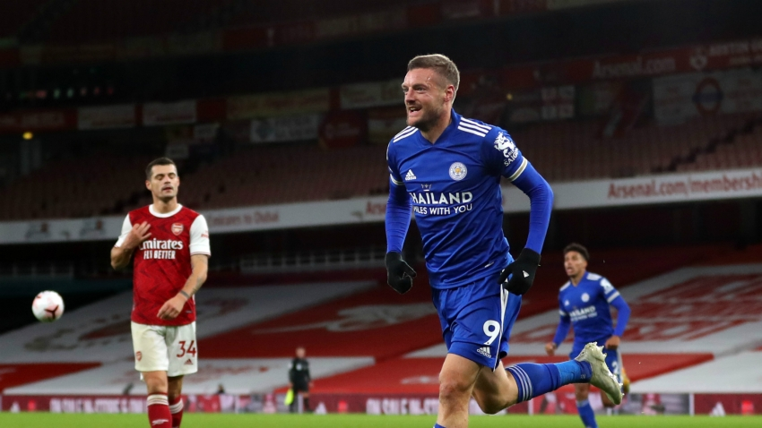 Arsenal 0-1 Leicester City: Substitute Vardy ends Gunners' unbeaten home run