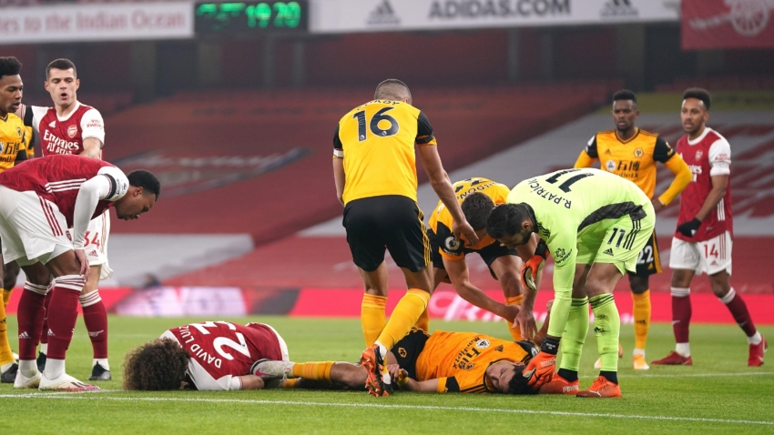 Wolves' Jimenez suffered fractured skull against Arsenal