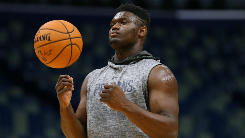 Pelicans rookie Zion Williamson out for up to eight weeks following knee surgery