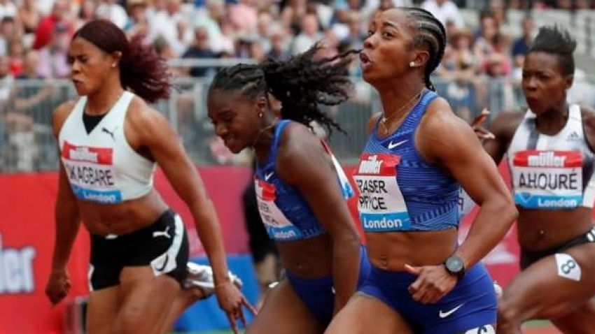Fraser-Pryce destroys field to take top spot at London Anniversary Games