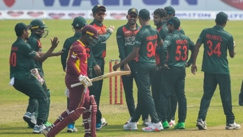 West Indies fall to defeat again as Bangladesh sweep three-match series