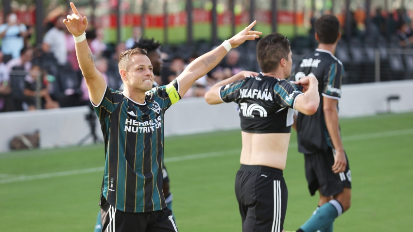 MLS: Chicharito brace sinks Beckham's Inter Miami, defending champs Crew share points