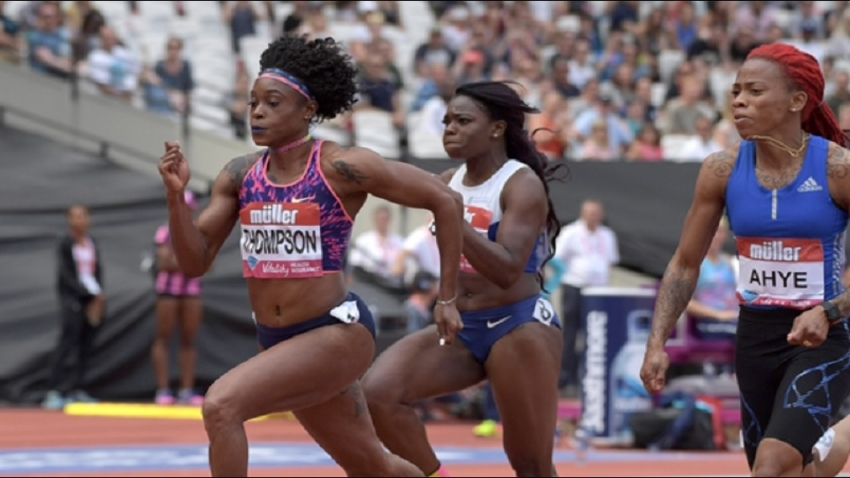 Elaine Thompson, Tajay Gayle score wins in China
