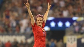 Ballon d'Or: Rapinoe, Bronze and Morgan lead women's nominations
