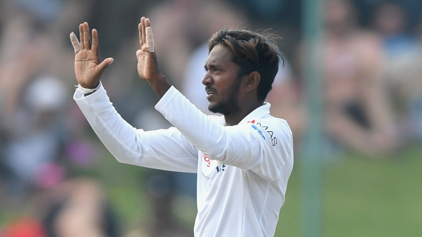 Sri Lanka spinner Dananjaya banned over illegal bowling action