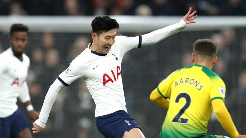 Tottenham 2-1 Norwich City: Son to the rescue as Mourinho's men fail to impress