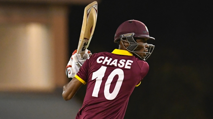 Roston Chase takes aim at becoming better at whiteball cricket
