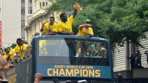 World champions South Africa announce Scotland, Georgia matches