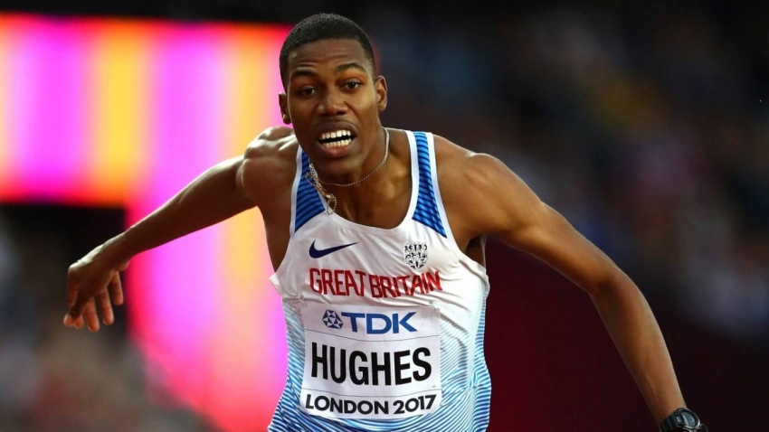 Hughes sets sights on longstanding Linford Christie record