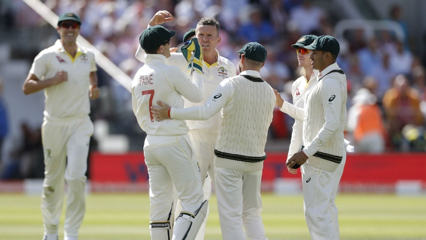 Ashes 2019: Bairstow and Woakes stand firm after England collapse