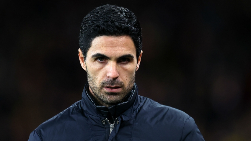 Arteta says it will take time for Arsenal to follow similar blueprint to champions Liverpool