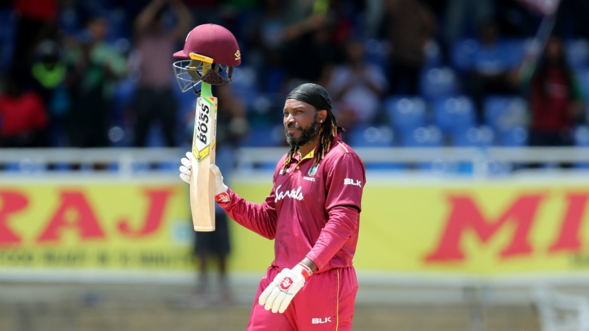 Chris Gayle provides fireworks in apparent West Indies ODI farewell
