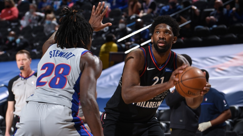 76ers win eighth straight to move closer to clinching east, Nets end slump and Westbrook equals record