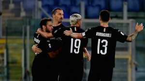 Lazio 0-3 Milan: Ibrahimovic among the goals as hosts' Scudetto hopes dented