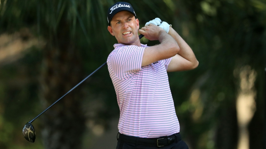 Simpson grabs RBC Heritage lead as Koepka stays in contention