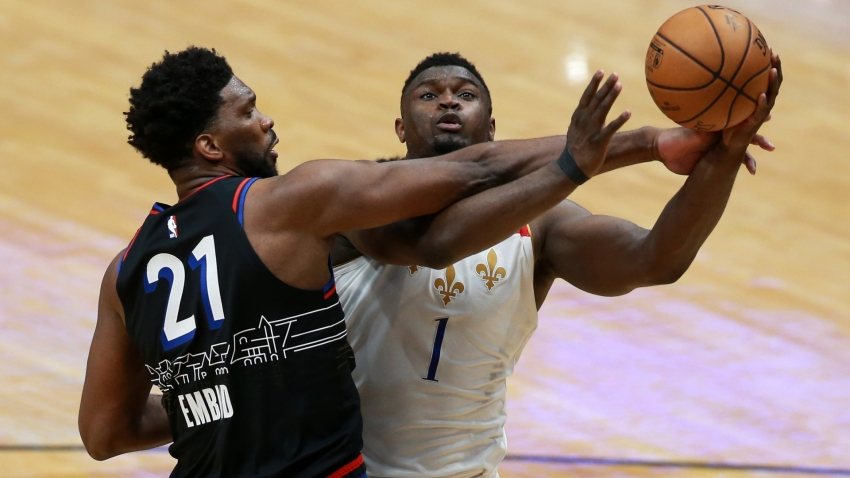 'Incredible' Zion leads Pelicans past 76ers, Bucks beaten again without Giannis