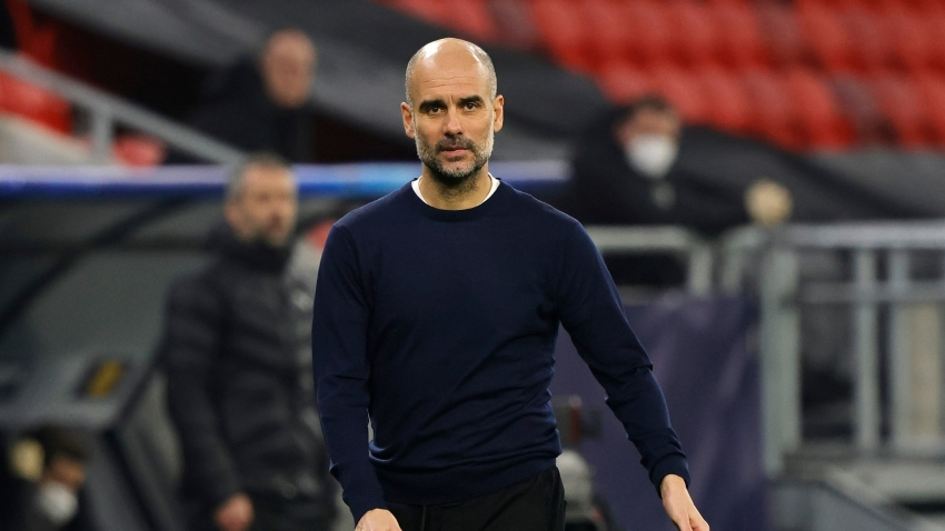 Man City have a lot of money to buy a lot of incredible players, smirks Guardiola