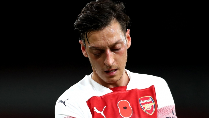Arteta suggests Ozil might struggle to break into 'evolving' Arsenal side