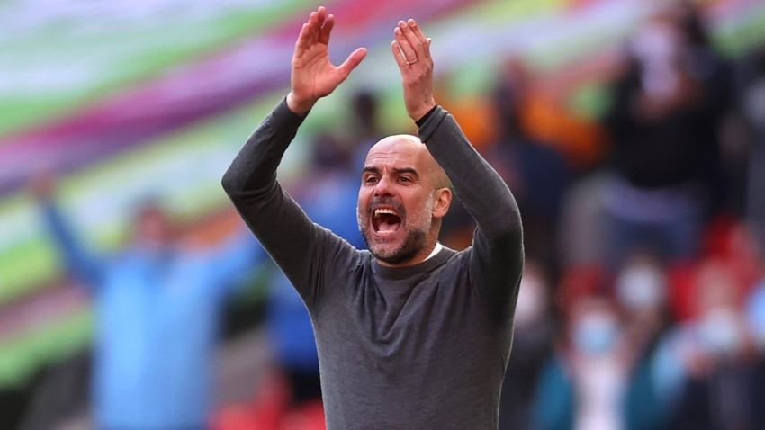Guardiola enjoys title taste again as he hails Man City's 'massive' success