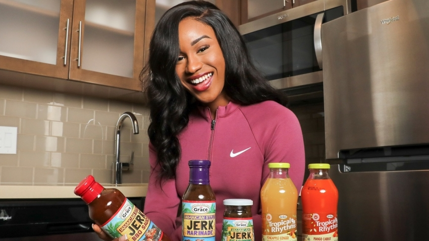 Briana Williams signs on as Grace Foods ambassador in three-year deal