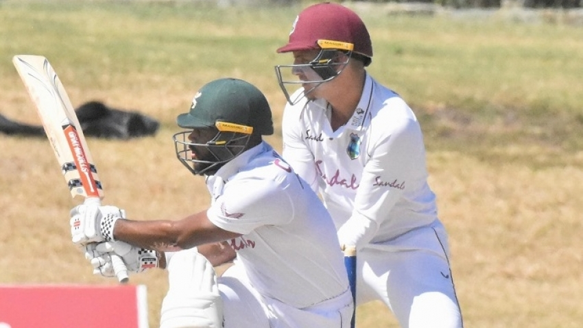 John Campbell scores a ton as Chase's XI reach 280 for 7 on opening day of Windies practice match