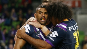 Melbourne Storm 32-0 Parramatta Eels: Minor premiers set up Roosters rematch