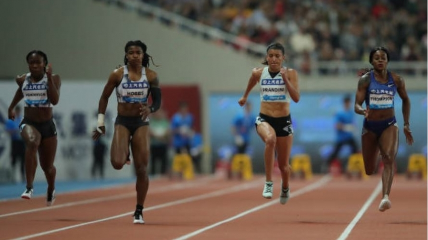 Elaine Thompson bested by debutant, Okagbare in Shanghai