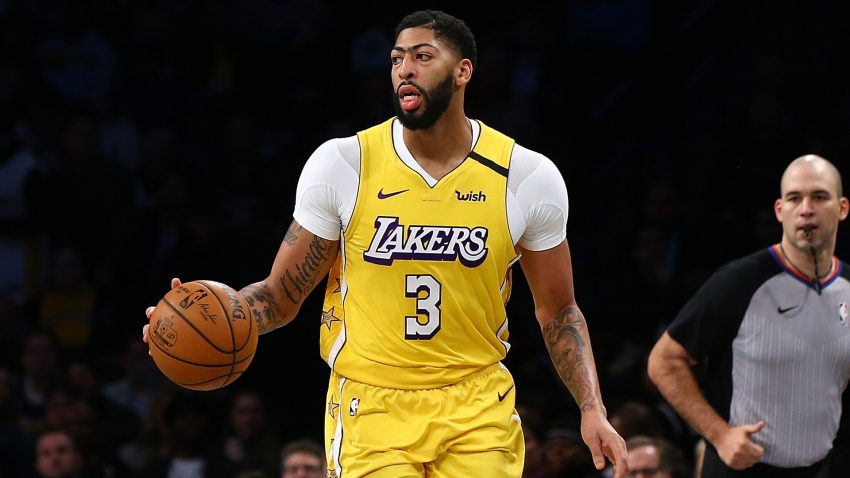 Coronavirus: Lakers' chances of NBA success higher after break – Davis