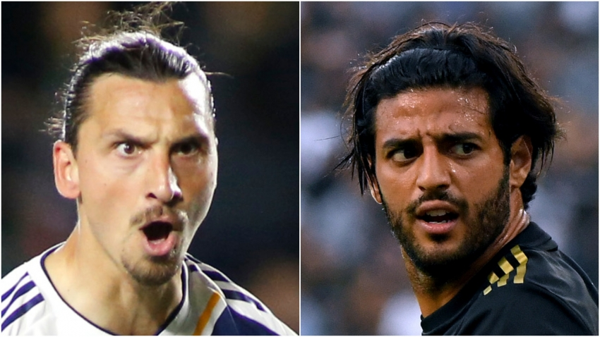 Zlatan Ibrahimovic: Don't compare me to Carlos Vela