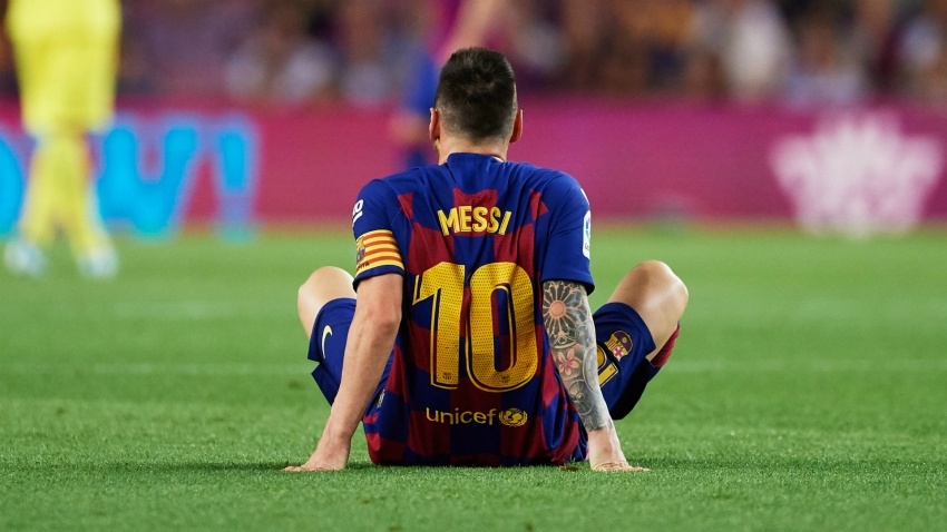 Barcelona coach Valverde: When will Messi return...?