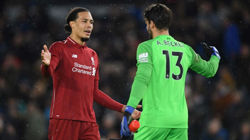 Liverpool duo Alisson and Van Dijk join Messi and Ronaldo in FIFA World XI