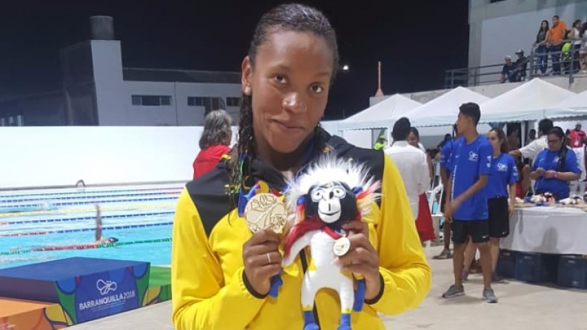 Alia Atkinson at it again – Brings Jamaica's second CAC Gold