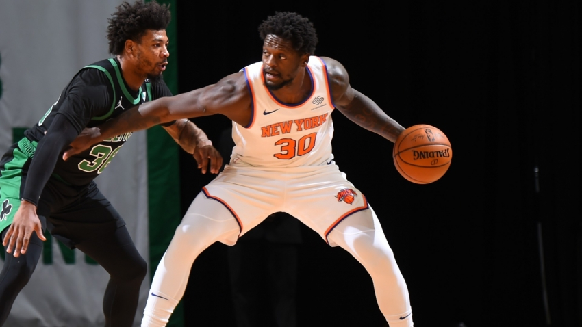 Knicks humble Celtics in blow-out win as Doncic eclipses Jordan