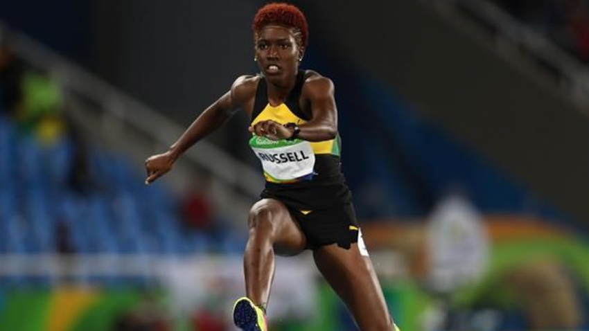 Jamaica's Janieve Russell shakes off rust, advances to NACAC 400m hurdles final