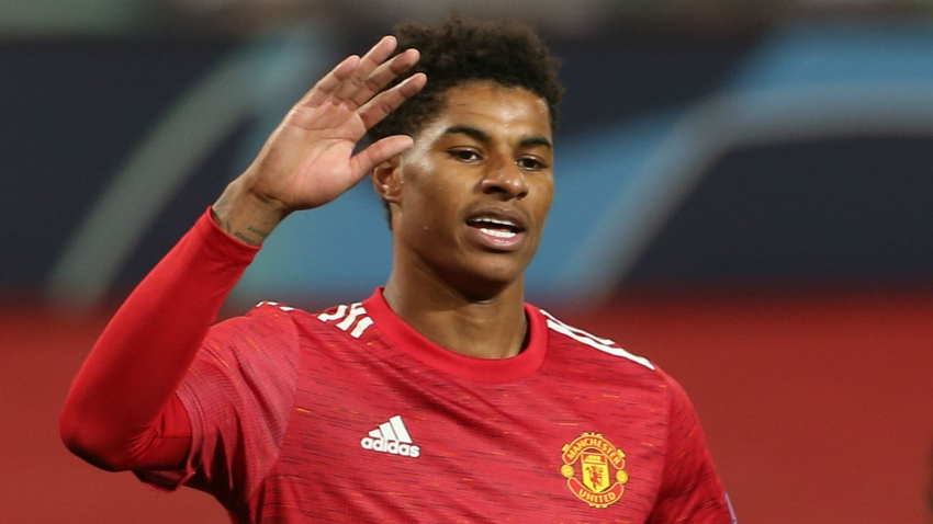 Hat-trick hero Rashford wants to build Old Trafford fortress