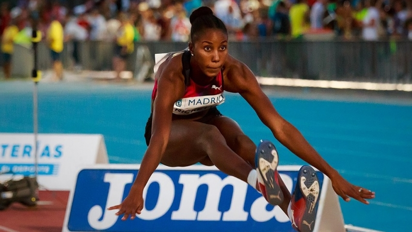 Shanieka Ricketts jumps 14.67m for third in Monaco