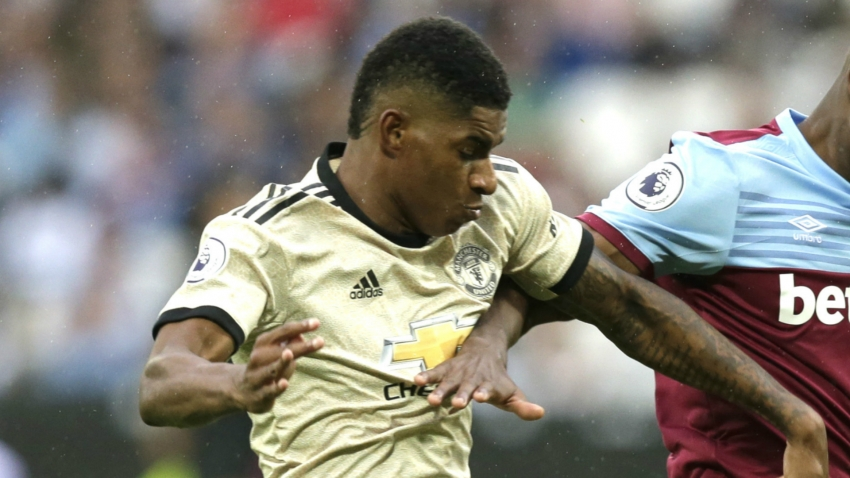 Injury forces Rashford off at West Ham