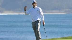 Taylor wins Pebble Beach Pro-Am for second PGA Tour title