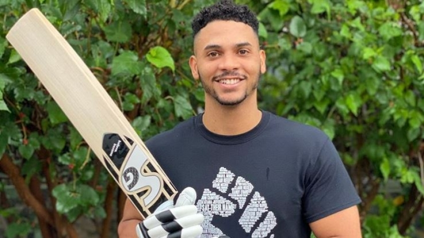 Brandon King bats for Black Lives Matter, to lend support Caribbean communities affected by pandemic
