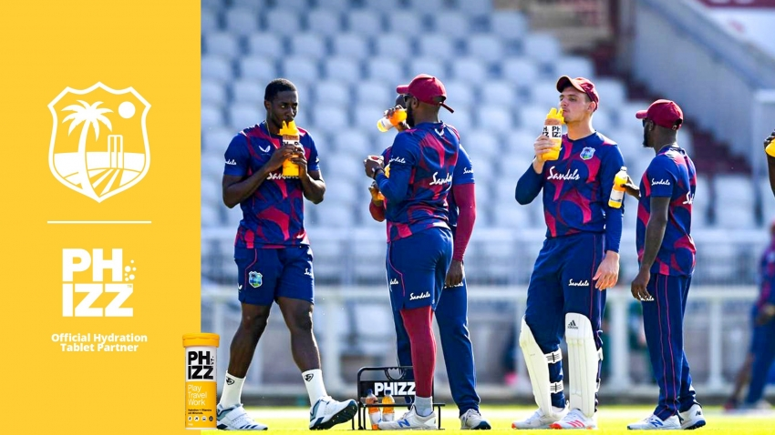 West Indies set to put 'Phizz' in their step – CWI announces hydration tablet partner