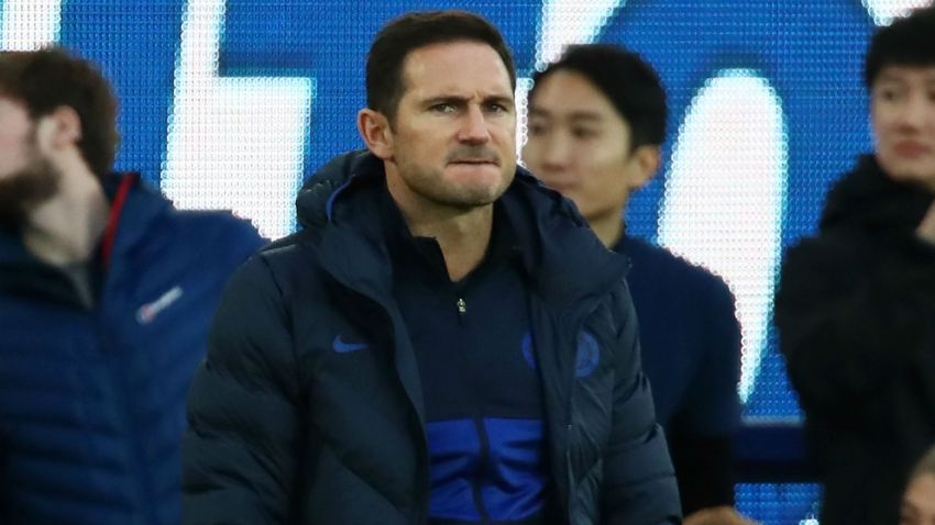 Lampard not yet considering transfer window despite Everton defeat