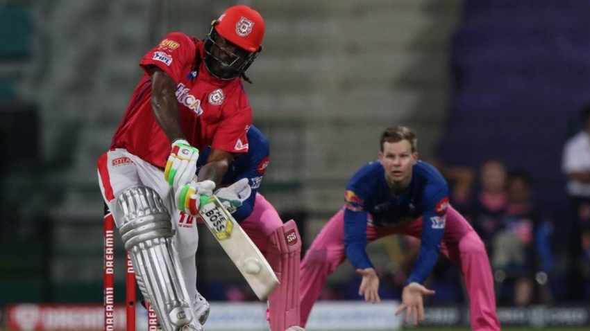 Gayle reaches 1000 T20 sixes, falls one short of 7th IPL 100