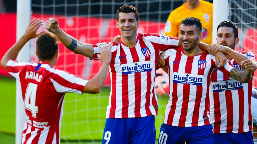 Celta Vigo 1-1 Atletico Madrid: All square after Morata scores fastest goal of LaLiga season