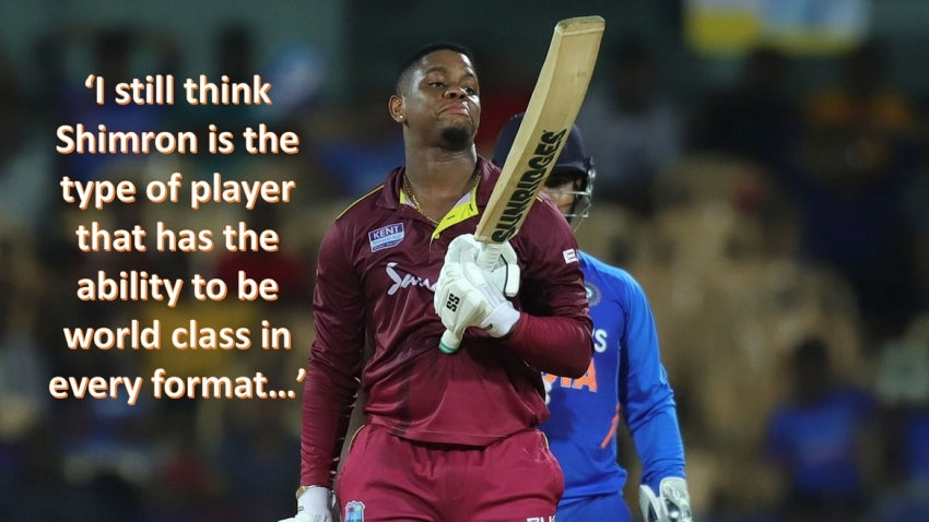 'Unfocused' Hetmyer a concern for Windies selectors