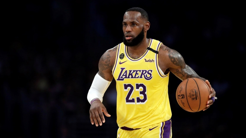 'Day One in the books' - LeBron and AD return to Lakers practice