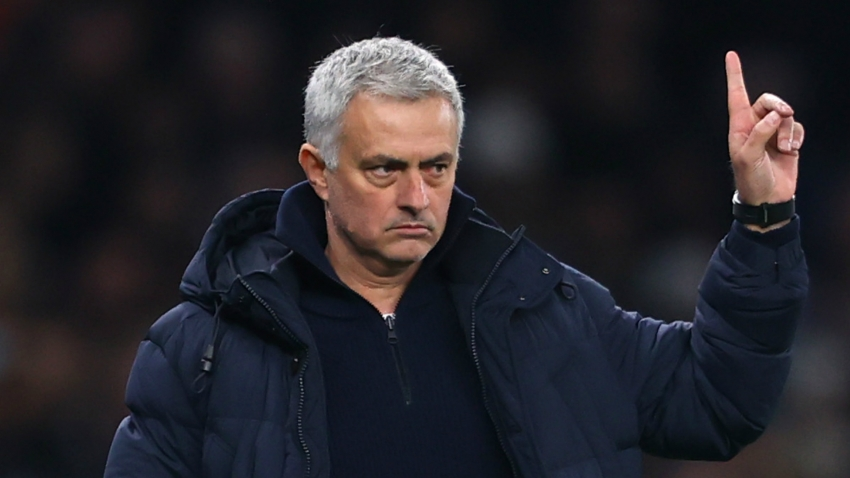 Mourinho bemoans striker shortage but remains calm over transfers