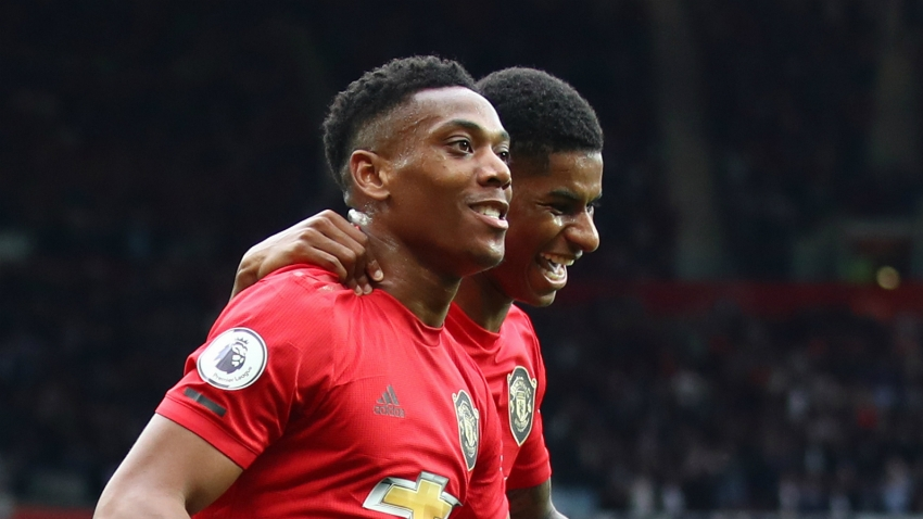It's a real pleasure - Martial enjoying pressure of leading Manchester United line
